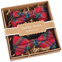 HOLIDAY DADDY & ME BOWTIE SET BY MUDPIE