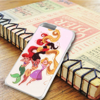 The Little Mermaid Hair Pocahontas Hair Tangled Hair Princess iPhone 6 Plus Case