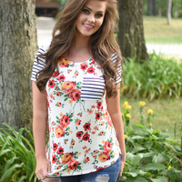 Summa Time Pocket Top IVORY