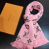 LV Fashion Women Embroider Easy to match Silk Scarf G-TMWJ-XDH