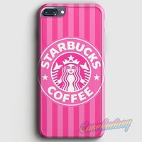 Starbucks Wallpaper Pink iPhone 7 Plus Case | casefantasy