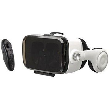 Licensed ILIVE IVR77BDL Virtual Reality Goggles with Headphones & Bluetooth(R) Remote KO_19_1