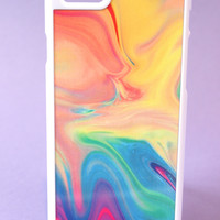 Pastel Rainbow Color Warp Phone Case