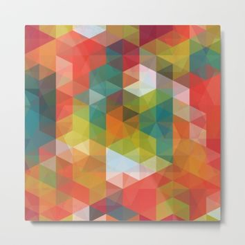 Transparent Cubism Metal Print by All Is One