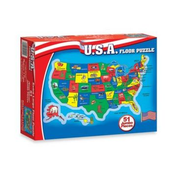 Melissa & Doug® USA Floor Puzzle