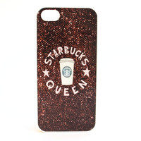 Glitter Coffee Queen Phone Case