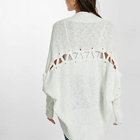 lace-up back cover up