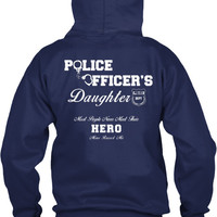 Police Officer's Daughter Hoodie