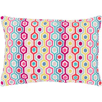 Candescent Pillow Kit - Coral, Bright Pink, Blush, Denim, Aqua, Mint, Bright Yellow, White - Down - CNE001