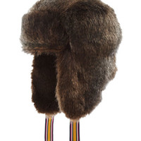 Fox Fur sherpa Womens Sherpa Hat , Size US ONE SIZE | Joules US