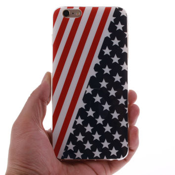 USA Flag iPhone 6 6s Plus & iPhone 7 7Plus & iPhone se 5s + Gift Box-83