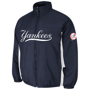 New York Yankees Authentic 2015 Therma Base Double Climate MLB Baseball Jacket (Home)