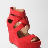 UrbanOutfitters.com > Dolce Vita Strappy Platform Wedge