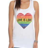 Love Is Love Girls Tank Top