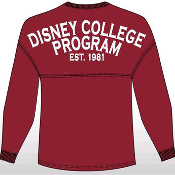 Custom School Spirit Pom Pom Jersey: Disney College Program