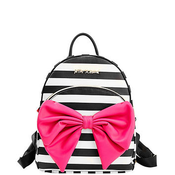 BOW TAILS BACKPACK: Betsey Johnson