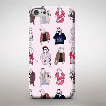 Harry Styles Pop Star Singer Fashion Icon Clothes Collage Phone Case Cover