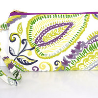 Purple Haze: This meduim size wristlet will fit all size phones and much more. I phone 6 plus and galaxy note 4