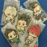Hunter x Hunter - Rubber Strap vol.2 limited - Gon Kirua Hisoka Illumi Leorio