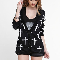 Nollie Cross Cardigan at PacSun.com