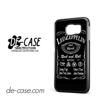 Led Zeppelin In Jack Deniels DEAL-6380 Samsung Phonecase Cover For Samsung Galaxy S6 / S6 Edge / S6 Edge Plus
