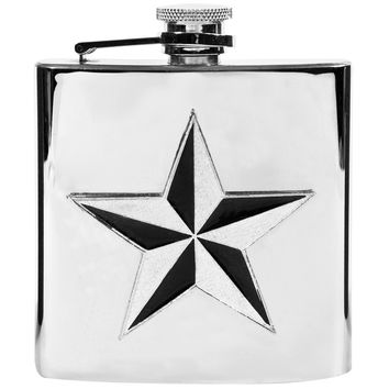 Nautical Star Flask