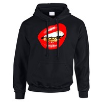 Trill Grill (Red Lips) Hoodie *choose hoodie color and size