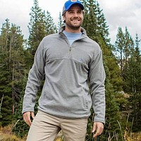 Copper Trail Fleece Pullover by Southern Marsh