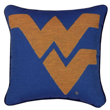 Throw Pillow - West Virginia University Mountaineers