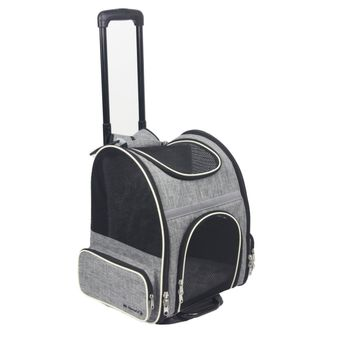 Malibu Series Airline Approved Backpack Stroller With Detachable Wheel Assembly