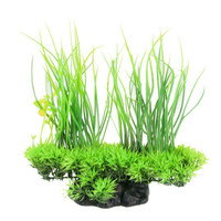 20cm Green Artificial Aquarium Fish Tank Plastic Plant Grass Ornament Decor