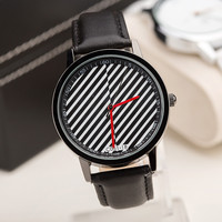New Arrival Stylish Awesome Great Deal Designer's Gift Good Price Trendy Summer Unisex Stripes Innovative Watch [4933061060]