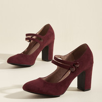Chelsea Crew Strappy Tappin' Mary Jane Heel