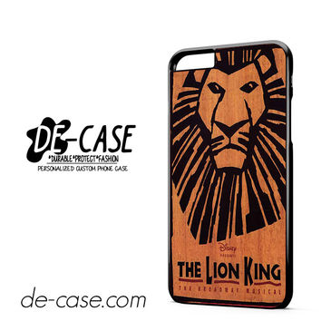 The Lion King Broadway Musical Brown DEAL-10843 Apple Phonecase Cover For Iphone 6/ 6S Plus