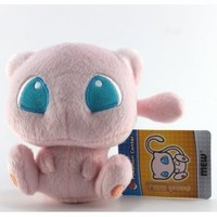 "Pokémon Pokemon Plush Mew Doll Around 15cm 6"" Pink, Free"