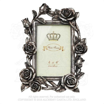Alchemy Gothic Shades of Alchemy Rose & Vine Photo Frame