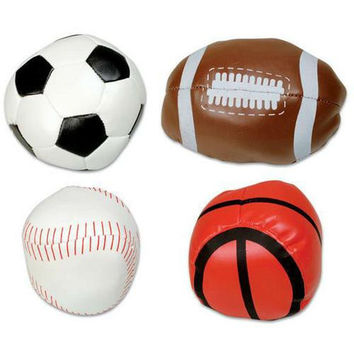 "4"" Soft Sports Ball Assortment"