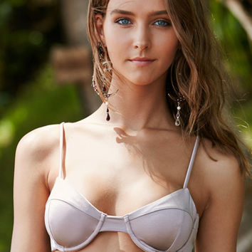 LA Hearts Shiny Underwire Bralette Bikini Top at PacSun.com