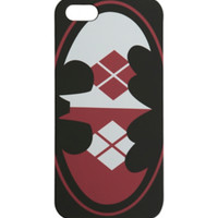 DC Comics Harley Quinn Batman Logo iPhone 5 Case