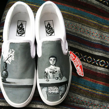 WMWTO Vans by kaitlynferruggia on Etsy