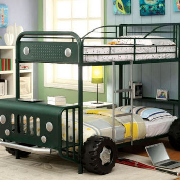 Expedition Green Bunk Bed