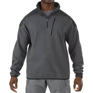 5.11 Tactical Quarter Zip Sweater, Gun Powder, XL