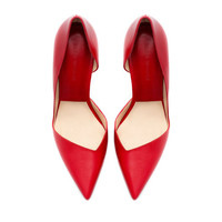 Star High Heel Strong Character Pointed Toe Shoes = 4814744004