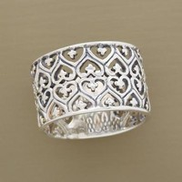 FILIGREE HEARTS BAND - Jewelry Gifts Under $50 - Gifts | Robert Redford's Sundance Catalog