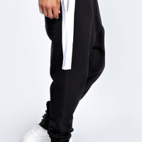 Colour Block Cuffed Jogger