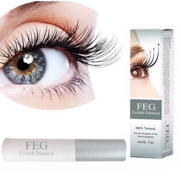 ICIKU7Q New FEG Eyelash Growth Treatments Makeup Makeup Eyelash Growth Treatments Liquid Serum Enhancer Eye Lash Longer Thicker 3ml
