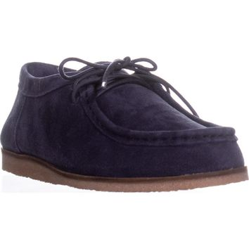 Lucky Brand Acaciah Flat Loafers, Moroccan Blue, 7 US / 37 EU