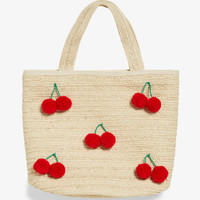Cherry beach bag - Cherry on top - Bags, wallets & belts - Monki GB