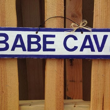 NEW Brandy Melville style Sign Teens Girls Wood Trendy Wall art Hanging Babe Cave