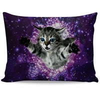 Kitty Glitter Pillow Case